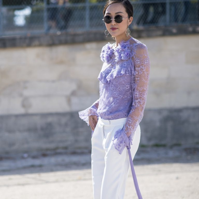 Fashion Trend Of The Month – Transparente Blusen