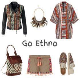 Go Ethno: Cooler Mustermix für lässige Fashionistas