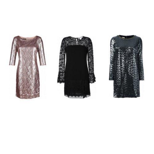 Pailletten, Metallic & Spitze - unsere liebsten Partykleider im Herbst!