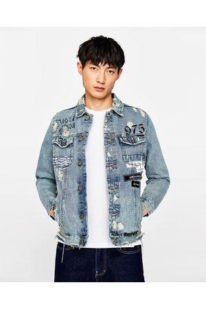 Zara jeansjacken herren