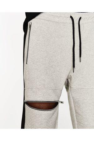 Zara JOGGINGHOSE MIT KNIEPATCHES - In weiteren Farben verfügbar