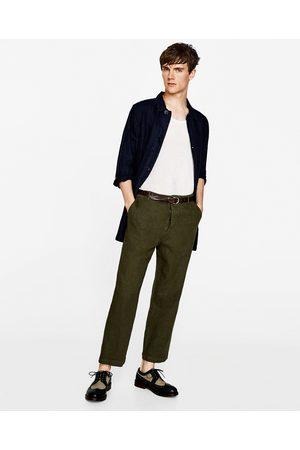 Zara WEITE LEINENHOSE - In weiteren Farben verfügbar