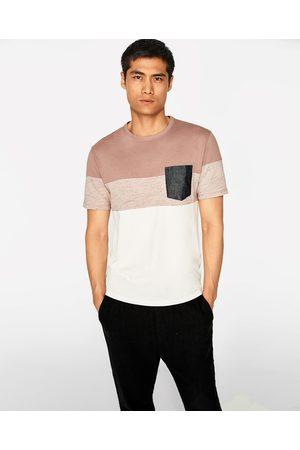 Zara T-SHIRT MIT STREIFEN - In weiteren Farben verfügbar