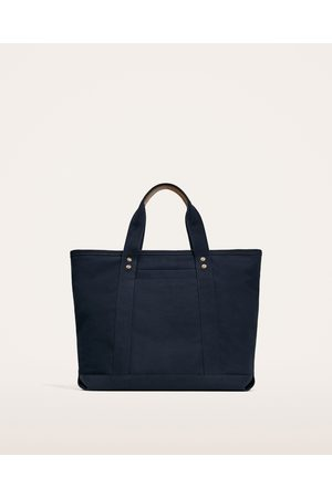 Zara MARINEBLAUER SHOPPER