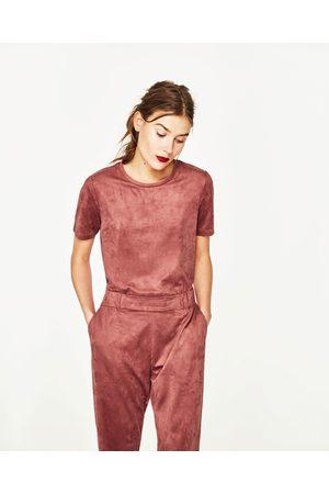 Zara JOGGINGHOSE IN WILDLEDEROPTIK - In weiteren Farben verfügbar