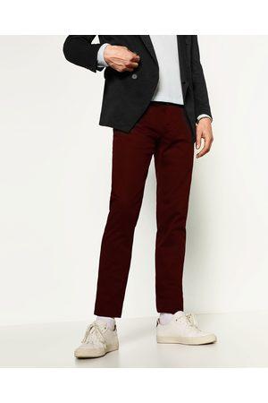 Zara SLIM-FIT-CHINOHOSE - In weiteren Farben verfügbar