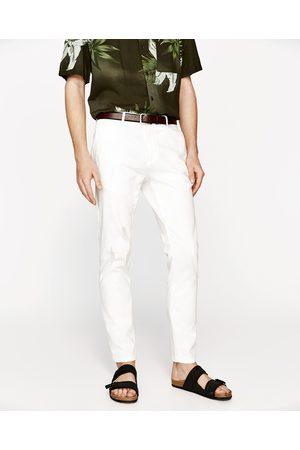 Zara CHINOHOSE MIT RISSEN - In weiteren Farben verfügbar