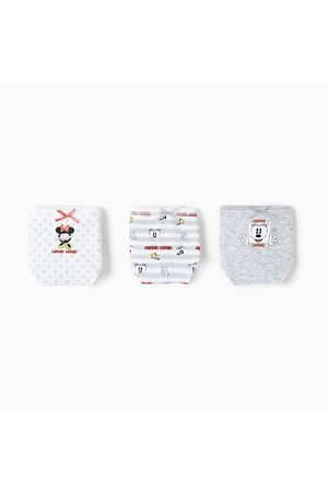 Zara 3ER-PACK SLIPS MIT MICKEY-MOTIVEN