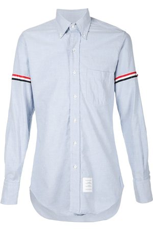 Thom Browne Grosgrain Armband Oxford Shirt
