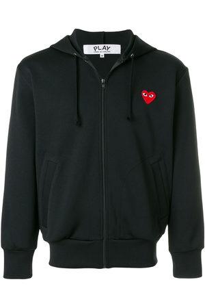Comme des Garçons Heart logo zipped hoodie
