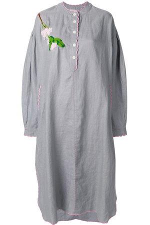 Natasha Zinko Floral-embroidered tunic dress