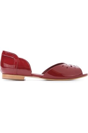 Sarah Chofakian Patent leather ballerinas