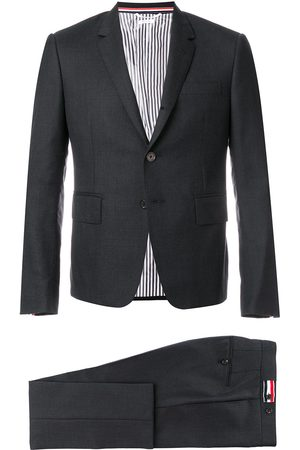 Thom Browne Super 120s Twill Suit With Tie