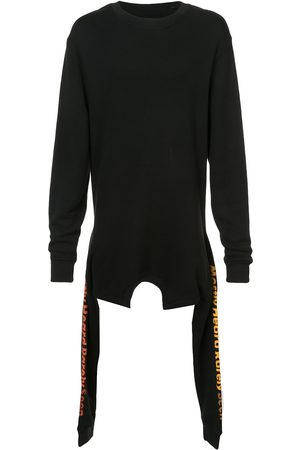 MOSTLY HEARD RARELY SEEN Asymmetric double layer sweatshirt
