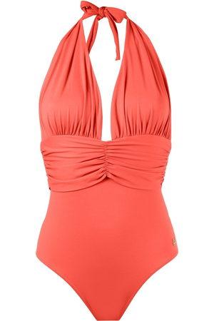 Brigitte Deep v-neck swimsuit