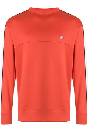 Ami Bicolor crew neck sweatshirt