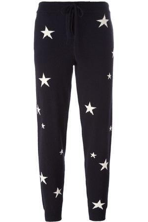 Chinti & Parker Star intarsia track pants
