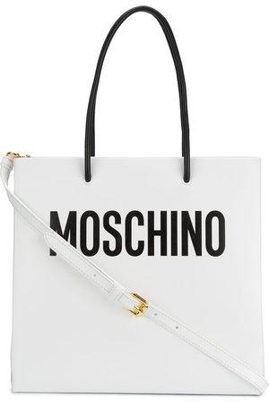 Moschino Logo print tote bag
