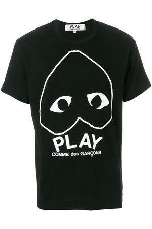 Comme des Garçons Heart motif T-shirt