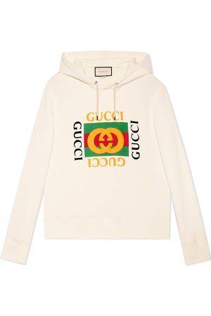 Gucci Herren Sweatshirts - Print hooded sweatshirt