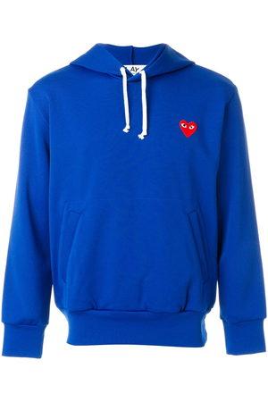 Comme des Garçons Herren Sweatshirts - Heart appliqué hoodie