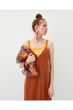 Zara Strickkleid mit Trägern