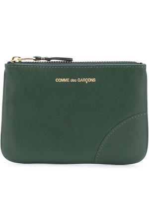 Comme des Garçons Logo-print zipped wallet