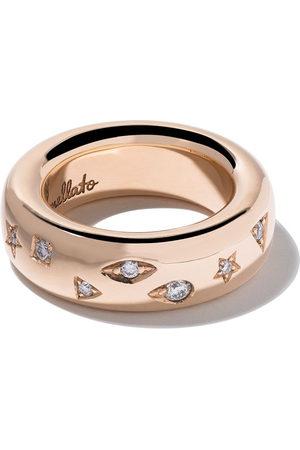 Pomellato 18kt Iconica diamond medium band ring