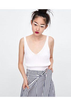 Zara SHORTS MIT PAPERBAG-TAILLE