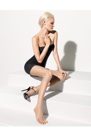 Wolford Luxe 9 Toeless Tights honey 17055/4060