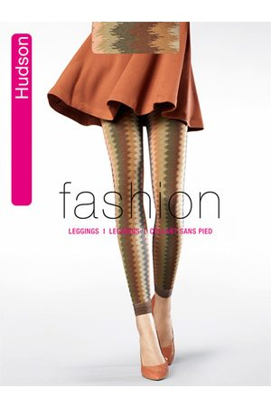 Hudson Casual Zigzag Leggings 1 Paar 001458/0456