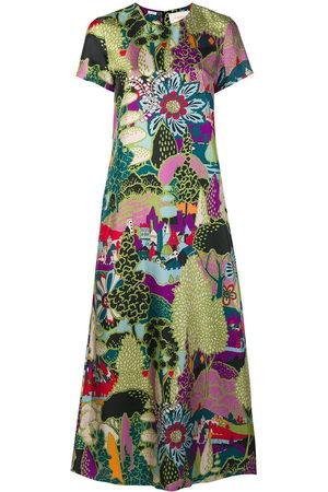 La DoubleJ Damen Freizeitkleider - Printed maxi dress