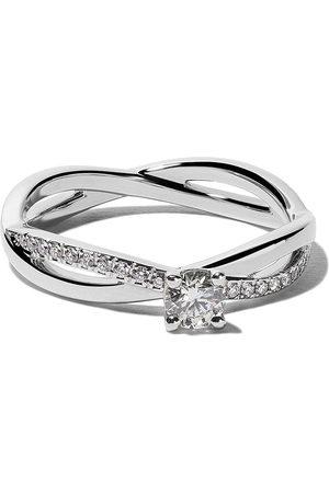De Beers Platinum My First De Beers Infinity solitaire diamond ring