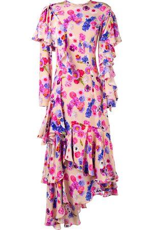 Natasha Zinko Asymmetric floral dress