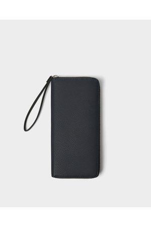 Zara Xl-brieftasche mit prägung