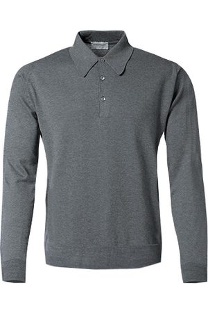 JOHN SMEDLEY Polo Pullover Finchley/charcoal