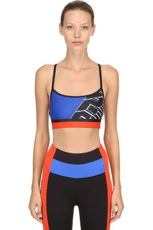 P.E Nation Damen Sport BHs - THE TURNOVER CROP SPORTS BRA