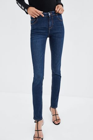"Zara JEANS MID RISE ""ESSENTIAL"""