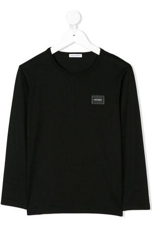 Dolce & Gabbana Logo plaque long sleeve top