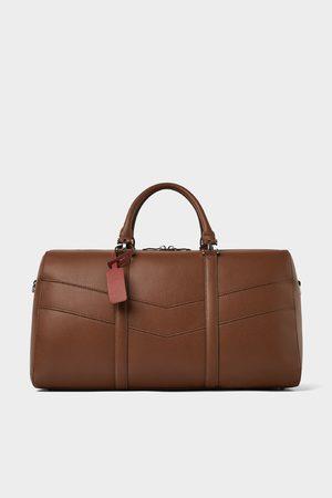 Zara Damen Bowlingtaschen - BROWN BOWLING BAG