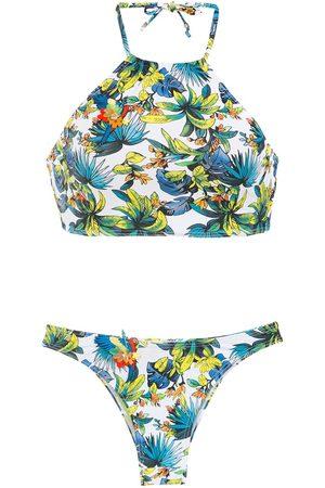 AMIR SLAMA Damen Bikinis - Printed bikini