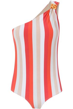 AMIR SLAMA One shoulder swimsuit
