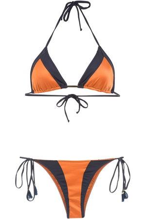 Brigitte Damen Bikinis - Color block bikini set