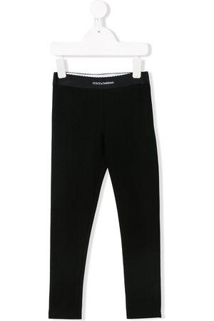 Dolce & Gabbana Mädchen Leggings & Treggings - Logo waistband leggings