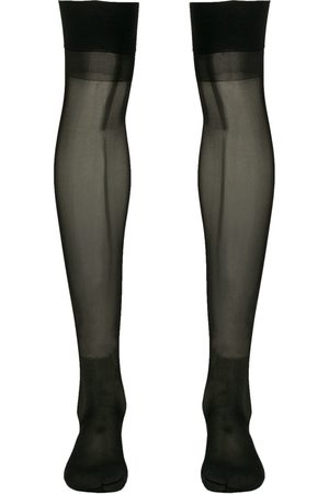 MAISON CLOSE Damen Socken & Strümpfe - Knee-length sheer stockings