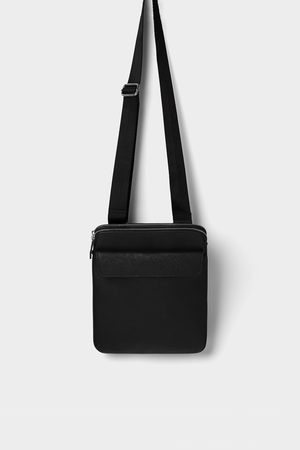 Zara Kleine schwarze umhängetasche