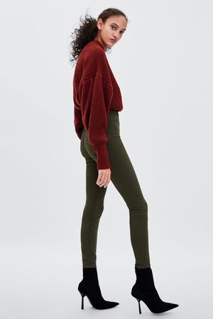 Zara JEGGINGS HI-RISE SUPER ELASTIC