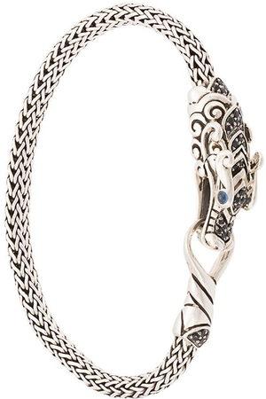 John Hardy Damen Armbänder - Naga Station sapphire and spinel bracelet