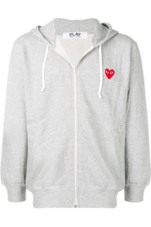 Comme des Garçons Zipped hooded jacket