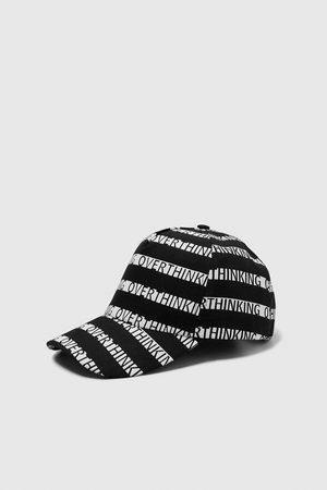 Zara SLOGAN CAP